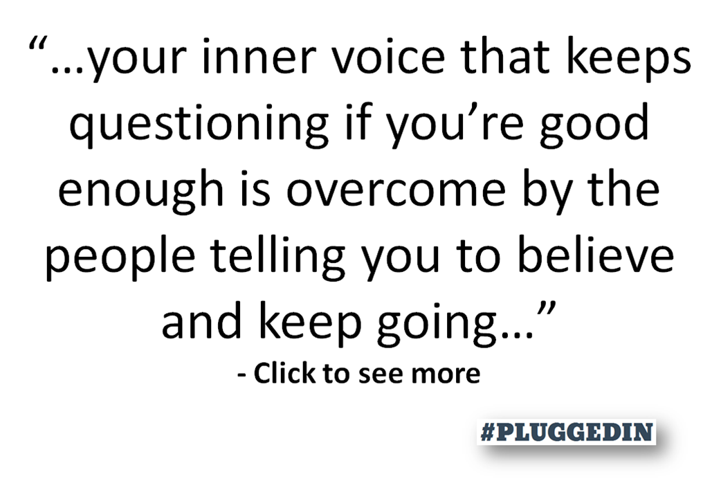 words of encouragement #pluggedin with Asher Abraham