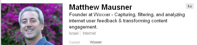 Matthew Mausner LinkedIn Headline