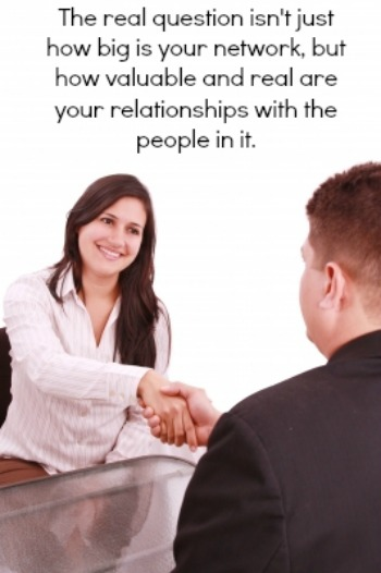 Meeting a person